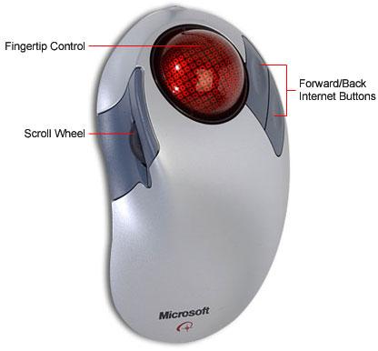 Microsoft Trackball